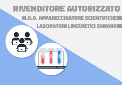 Rivenditore autorizzato M.A.D. – Laboratori Linguistici